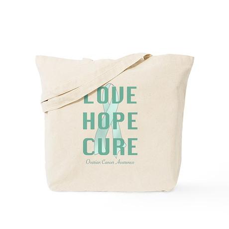 Ovarian Cancer (lhc) Tote Bag
