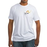 Fitted T-Shirt With Favarh Logo