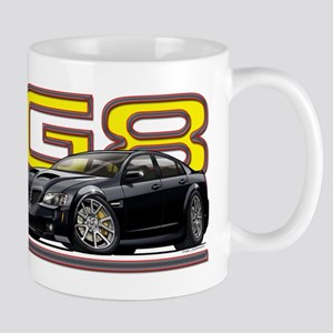 Black Pontiac G8 Mug