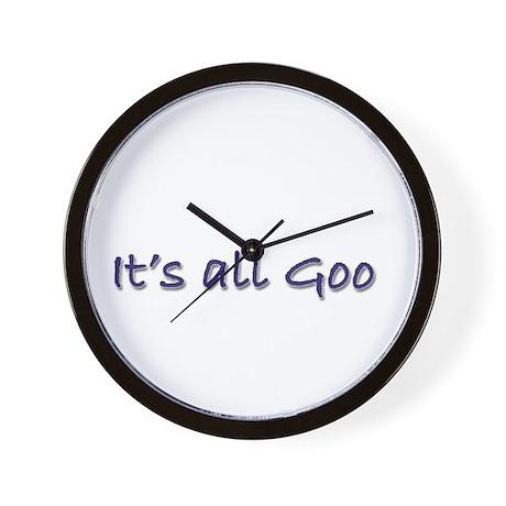 It's All Goo Wall Clock
