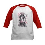 Queen of Hearts Kids Baseball Jersey