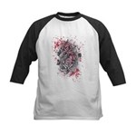 Painted Roses Kids Baseball Jersey