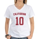 Carly Fiorina Women's V-Neck T-Shirt