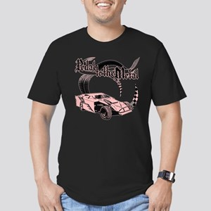 Dirt Modified - Pink Men's Fitted T-Shirt (dark)