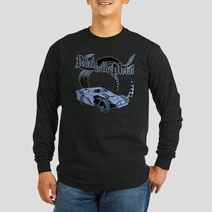 Dirt Modified - Blue Long Sleeve Dark T-Shirt