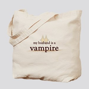 Husband Vampire Tote Bag