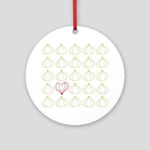 Garlic, please. Ornament (Round)