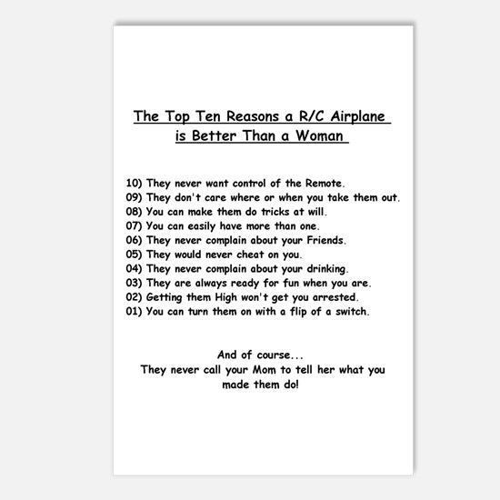 """R/C Top 10 List"" - Postcards (Package of 8)"