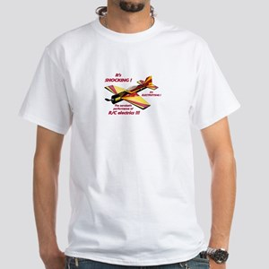 """Electric R/C Flyers"" - White T-Shirt"