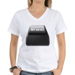 Computer Geek Women's V-Neck T-Shirt