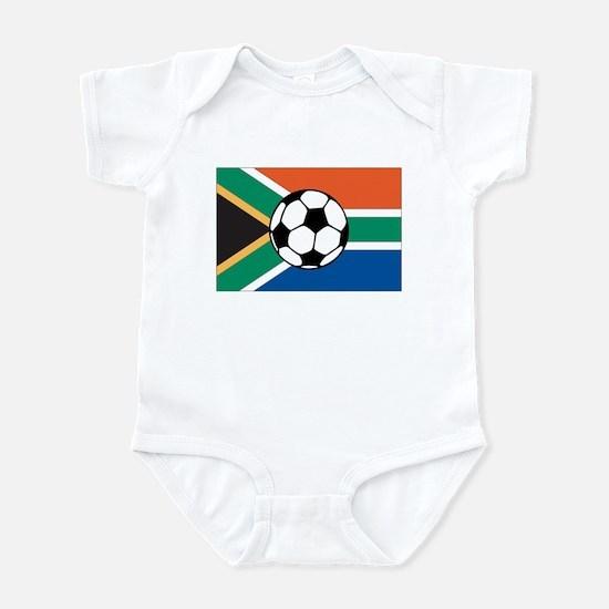 South Africa Soccer Infant Bodysuit