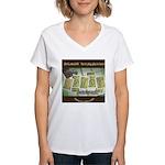 Ukyabít Women's V-Neck T-Shirt