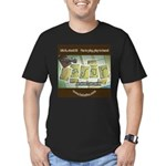 Ukyabít Men's Fitted T-Shirt (dark)