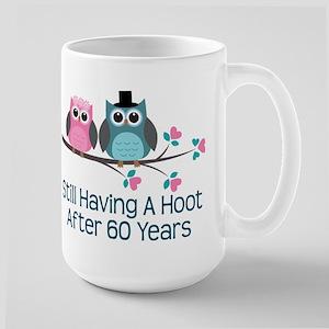 60th Anniversay Owls Mugs