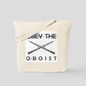 Obey the Oboist Tote Bag