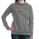 Dark Women's Hooded Sweatshirt With Favarh Log