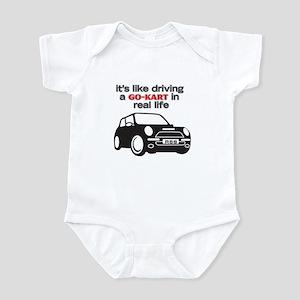 R56 - Like Driving a Go-Cart Infant Bodysuit