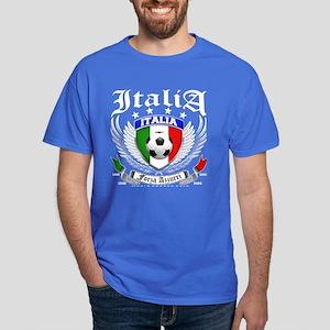 Italia Soccer Forza Azzurri Dark T-Shirt