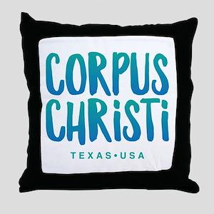 Corpus Christi Throw Pillow