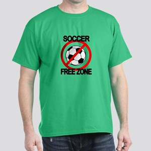 Soccer Free Zone Dark T-Shirt