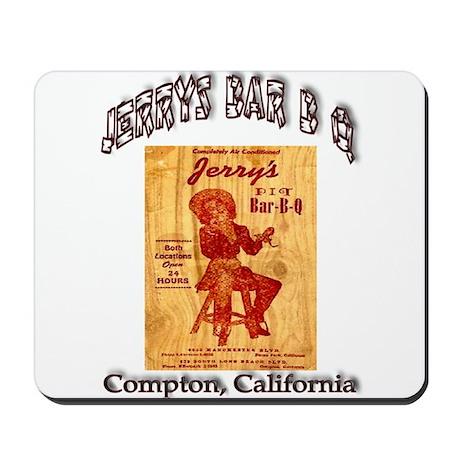 Jerrys Bar B Q Mousepad