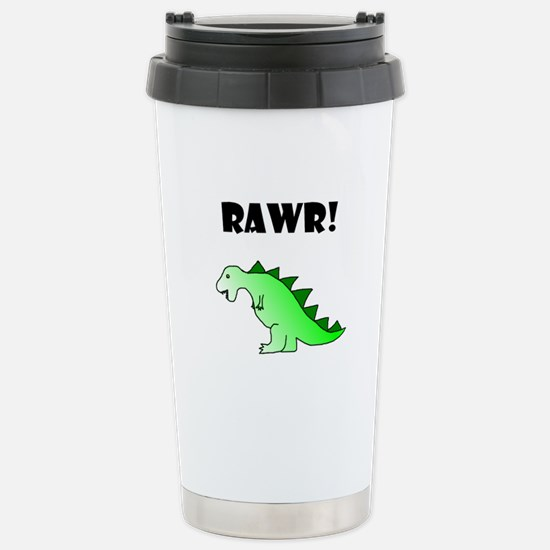 RAWR! Stainless Steel Travel Mug