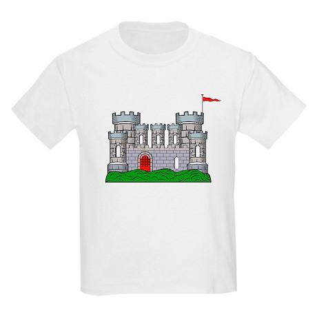 Fantasy medieval castle Kids T-Shirt