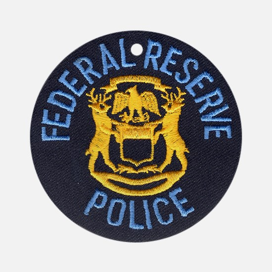 Federal Reserve Police Ornament (Round)
