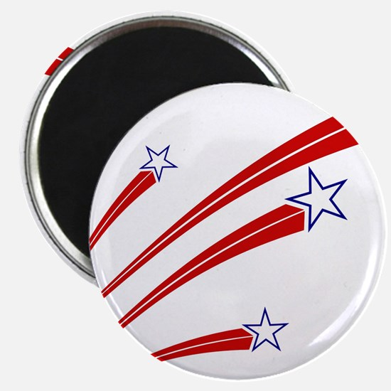 "Stars and Stripes 2.25"" Magnet (10 pack)"