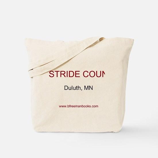 Unique Stride country Tote Bag