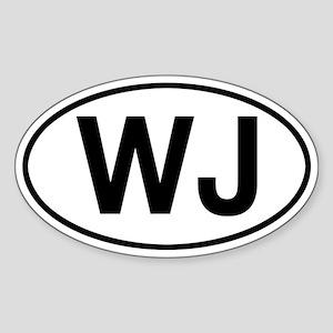 WJ Jeep Grand Cherokee Sticker