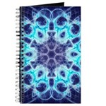 Journal Holy Blue Flame Sacred Geometry