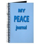Journal - My Peace Journal In 3d (blue)