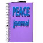 Journal - Peace Journal In 3d (purple)