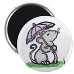 Umbrella Mouse (by Kir) Magnet Magnets
