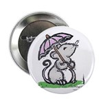 "Umbrella Mouse (by Kir) 2.25"" Button"