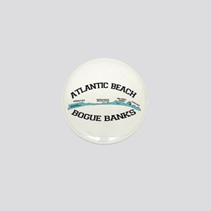 Atlantic Beach NC - Map Design Mini Button