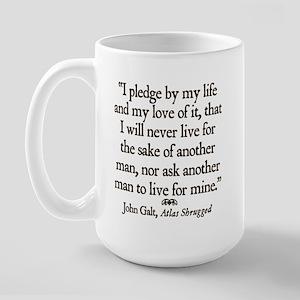 Galt Pledge Large Mug