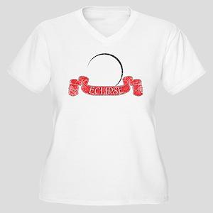 Eclipse New Moon Women's Plus Size V-Neck T-Shirt