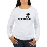Strike w/sign Women's Long Sleeve T-Shirt