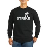 Strike w/sign Long Sleeve Dark T-Shirt