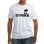 Strike w/sign Fitted T-Shirt