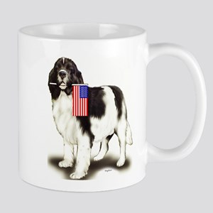 Landseer with flag Mug