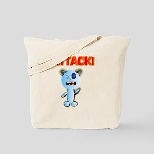 Attack! bear Tote Bag