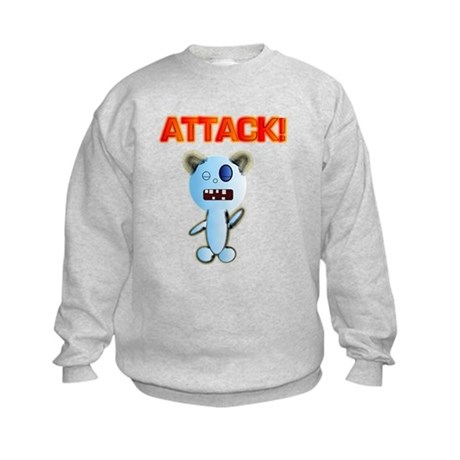 Attack! bear Kids Sweatshirt