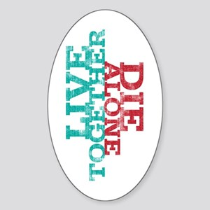 LOST Question Quote Sticker (Oval)