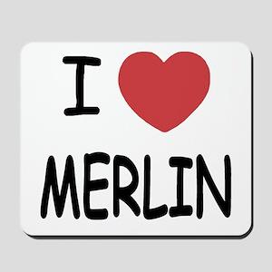 I heart Merlin Mousepad