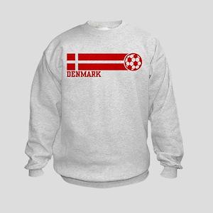 Denmark Soccer Kids Sweatshirt