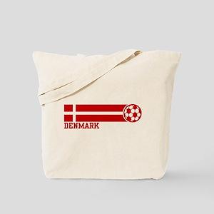 Denmark Soccer Tote Bag