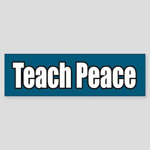 Teach Peace Bumper Sticker